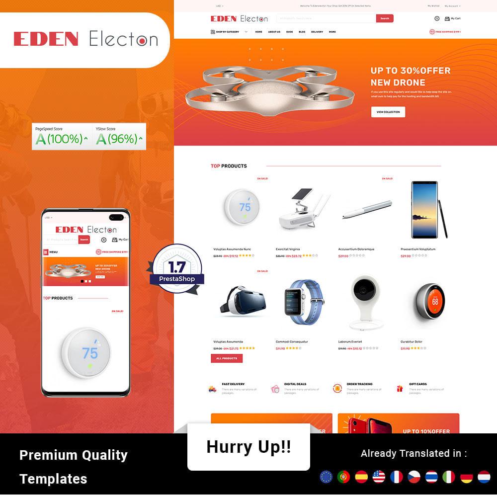 theme - Electronique & High Tech - Edenelecton - Electronics Store - 1