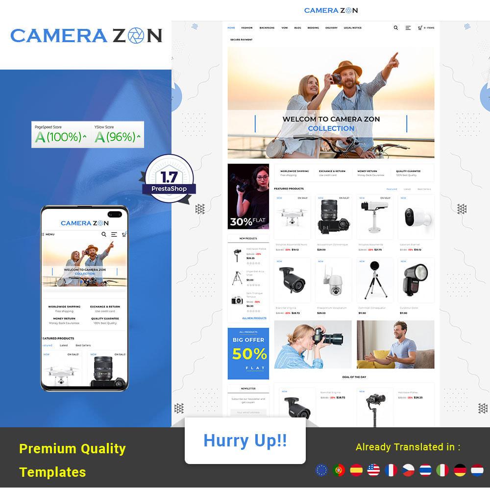 theme - Electronics & Computers - Camerazon - Camera Store - 1