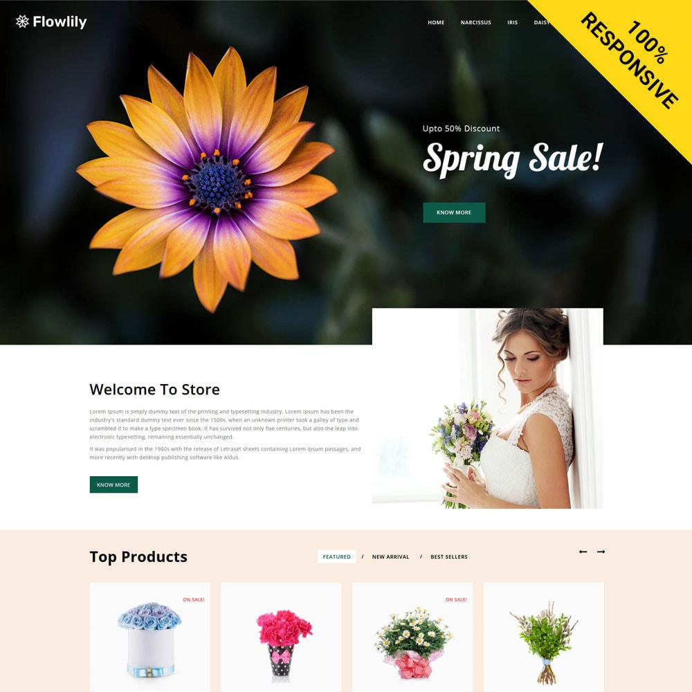 theme - Cadeaus, Bloemen & Gelegenheden - Flowlity - Flower Store - 1