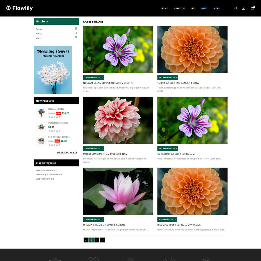 theme - Cadeaus, Bloemen & Gelegenheden - Flowlity - Flower Store - 3