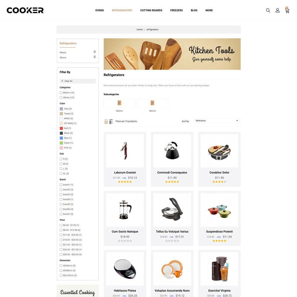 theme - Food & Restaurant - Cooker - Kitchen Store - 4