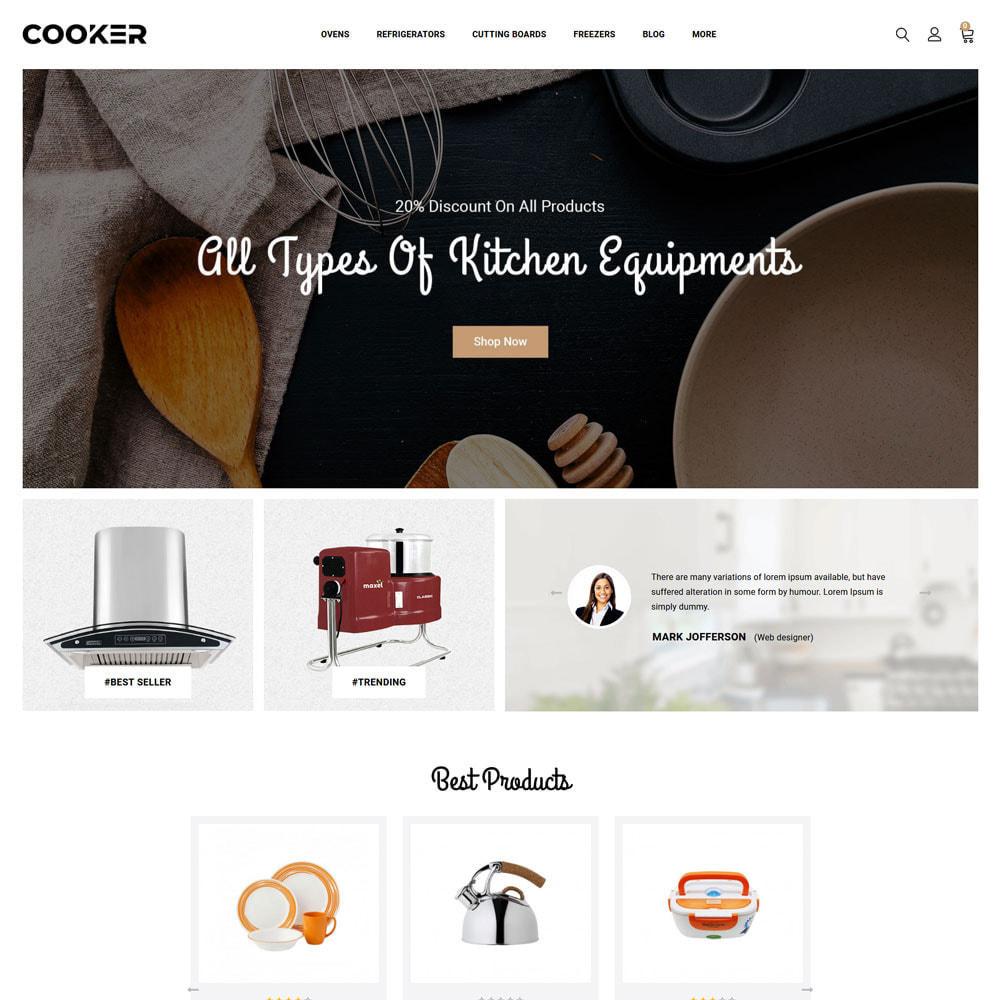 theme - Food & Restaurant - Cooker - Kitchen Store - 6