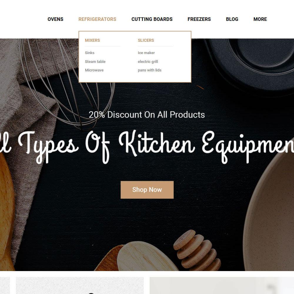 theme - Food & Restaurant - Cooker - Kitchen Store - 7