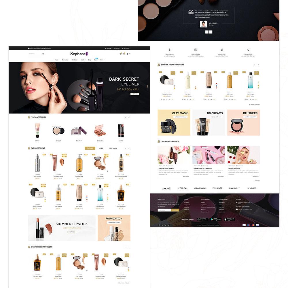 theme - Santé & Beauté - Sephora Mega Bio–Cosmetics Health–Beauty Super Store - 3