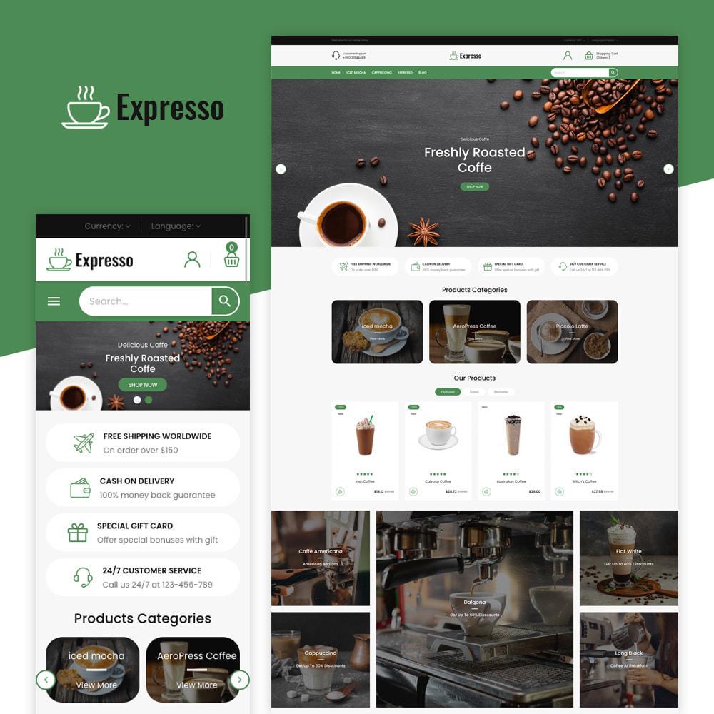 theme - Gastronomía y Restauración - Tienda de café expresso - 1