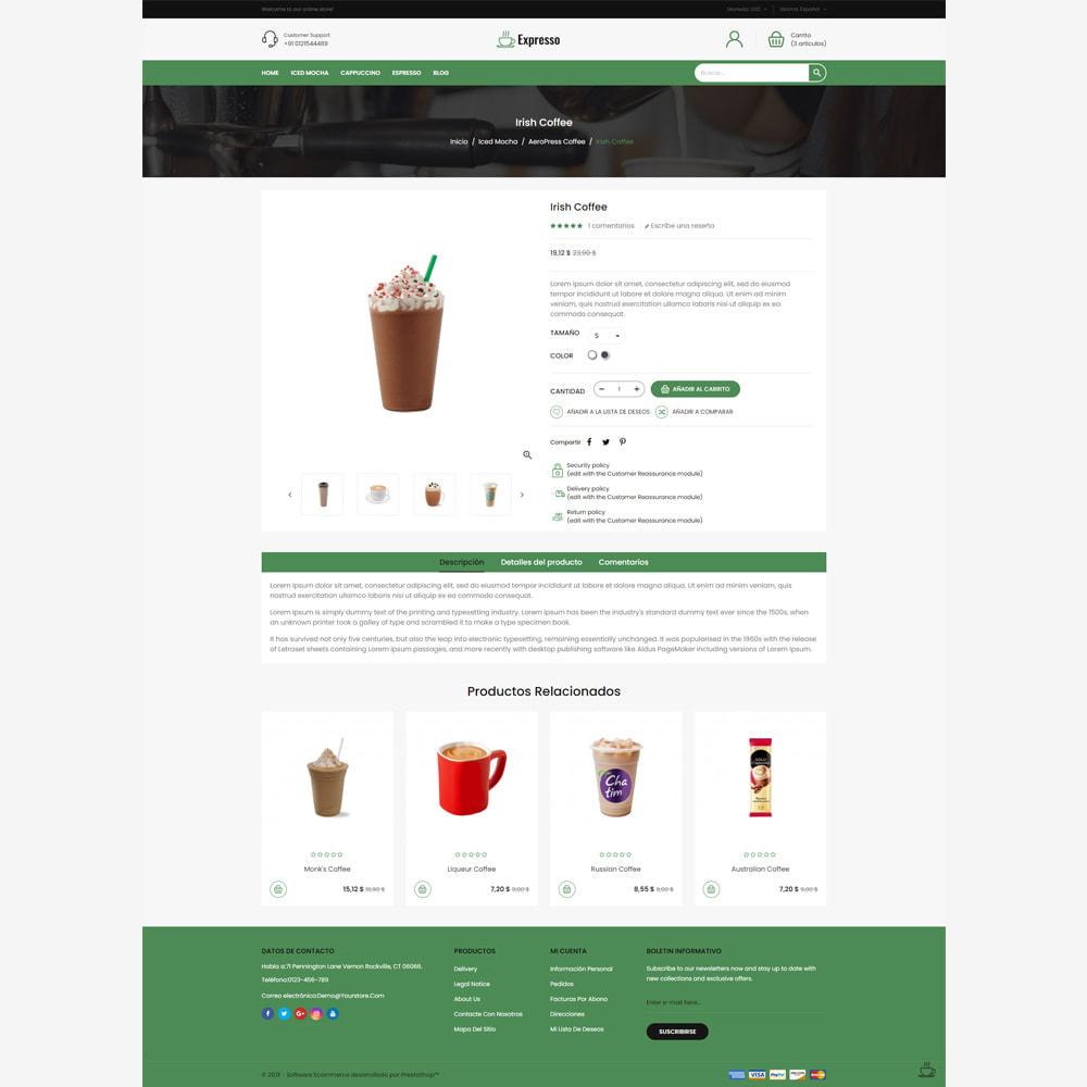 theme - Gastronomía y Restauración - Tienda de café expresso - 4
