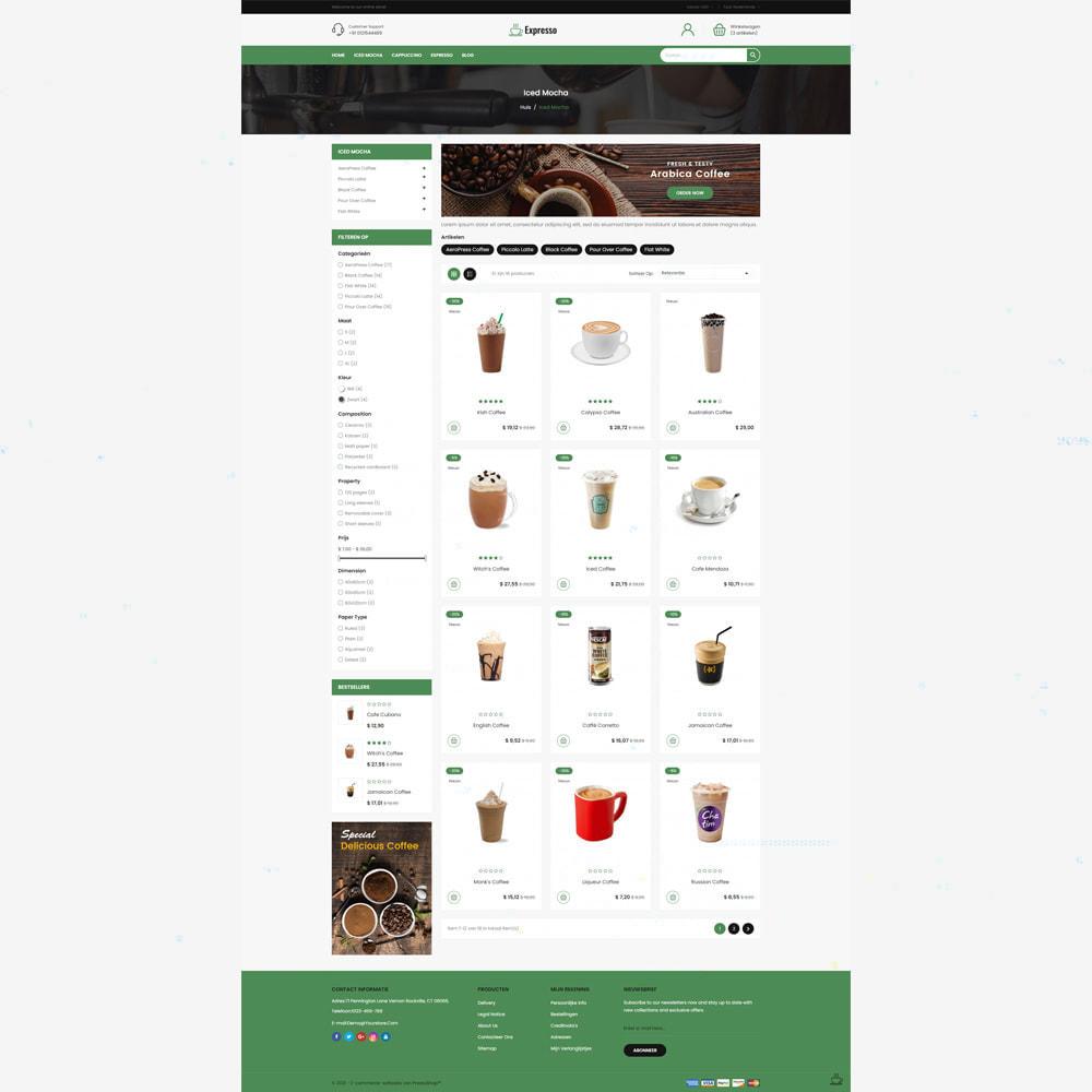 theme - Eten & Restaurant - Expresso Coffee Store - 3