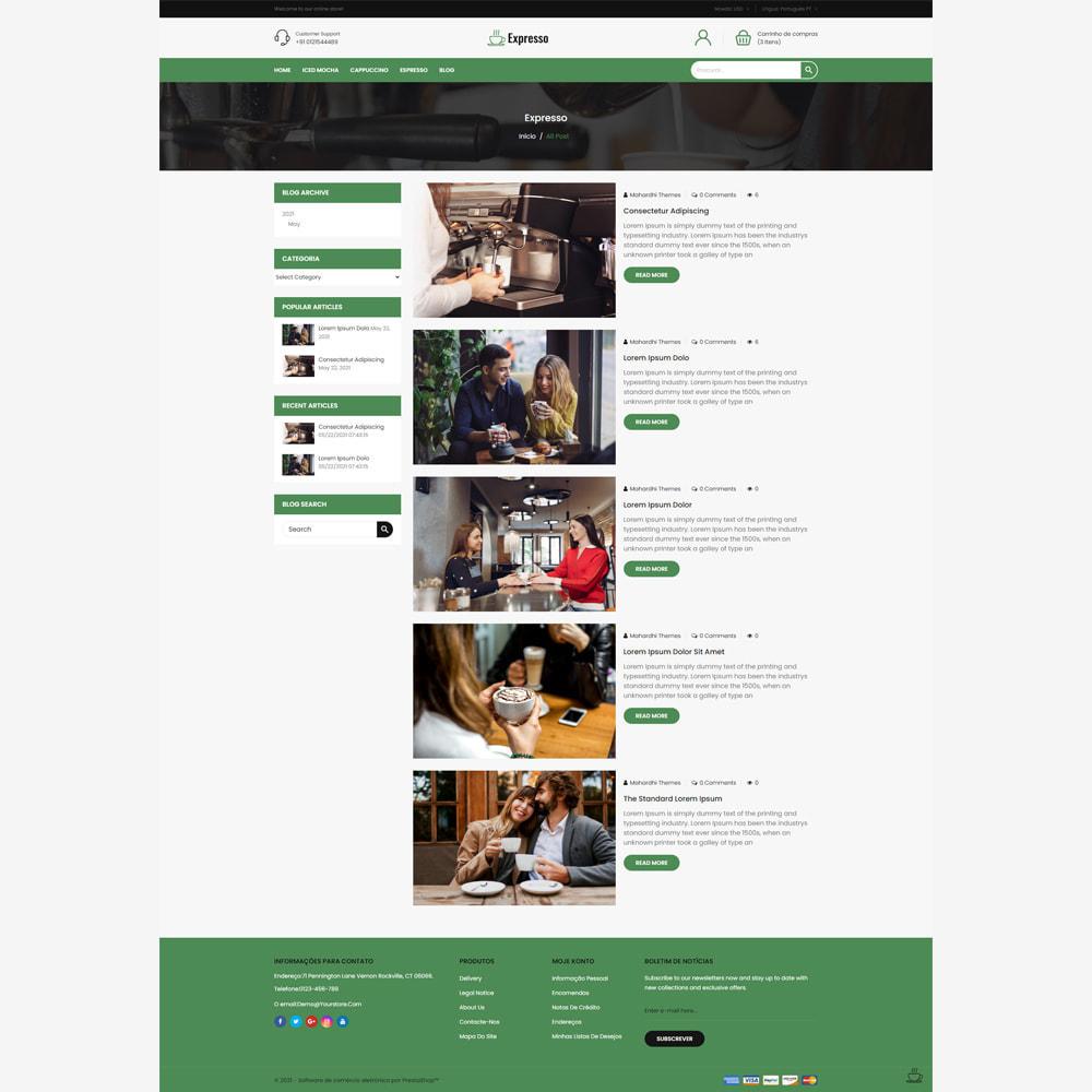 theme - Alimentos & Restaurantes - Expresso Coffee Store - 5