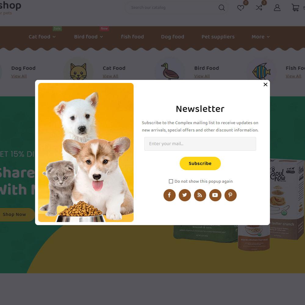 theme - Dieren - Petstore - Animals & Pets Care Store - 10