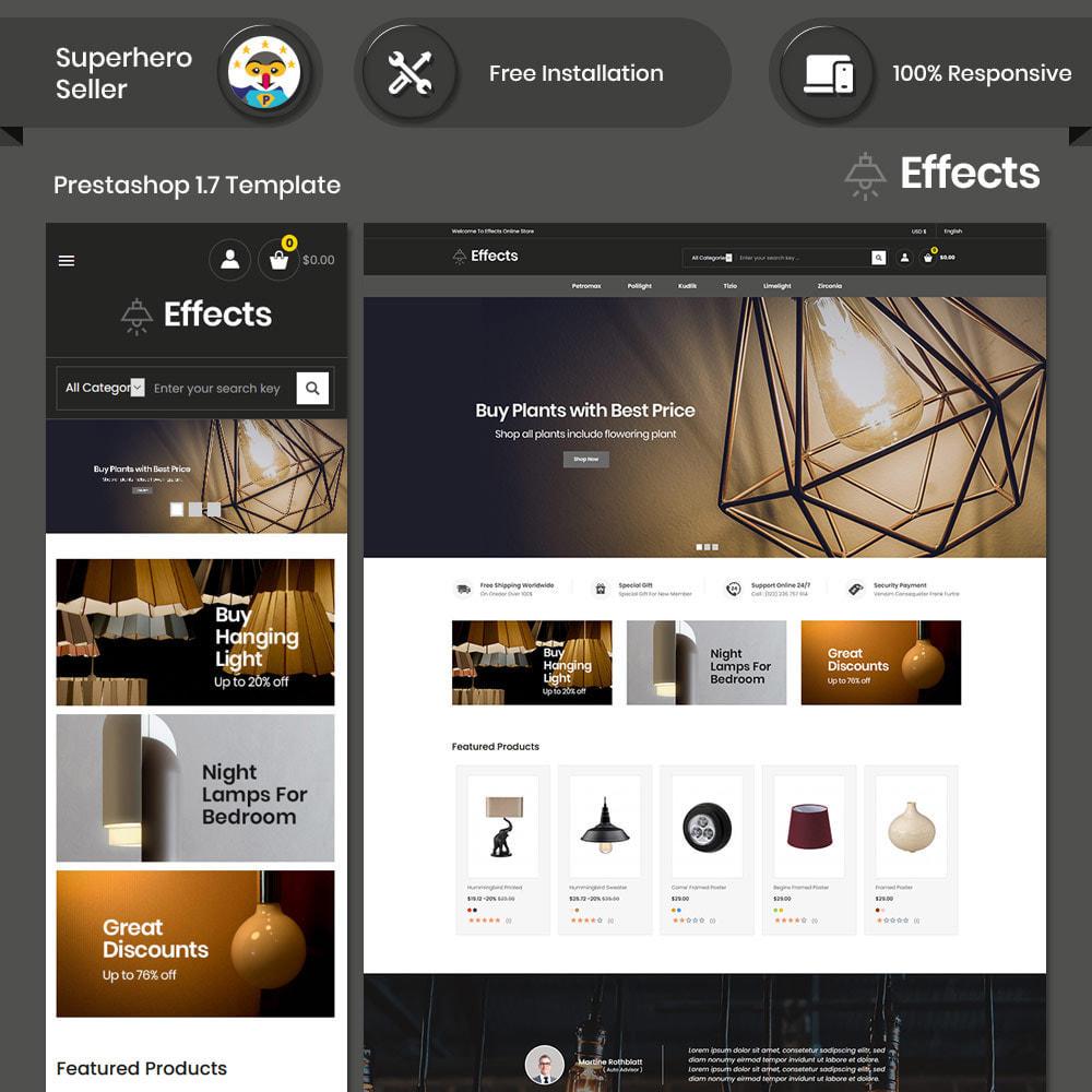 theme - Home & Garden - Effect Light LED - Lamp Home Decor  Store - 1