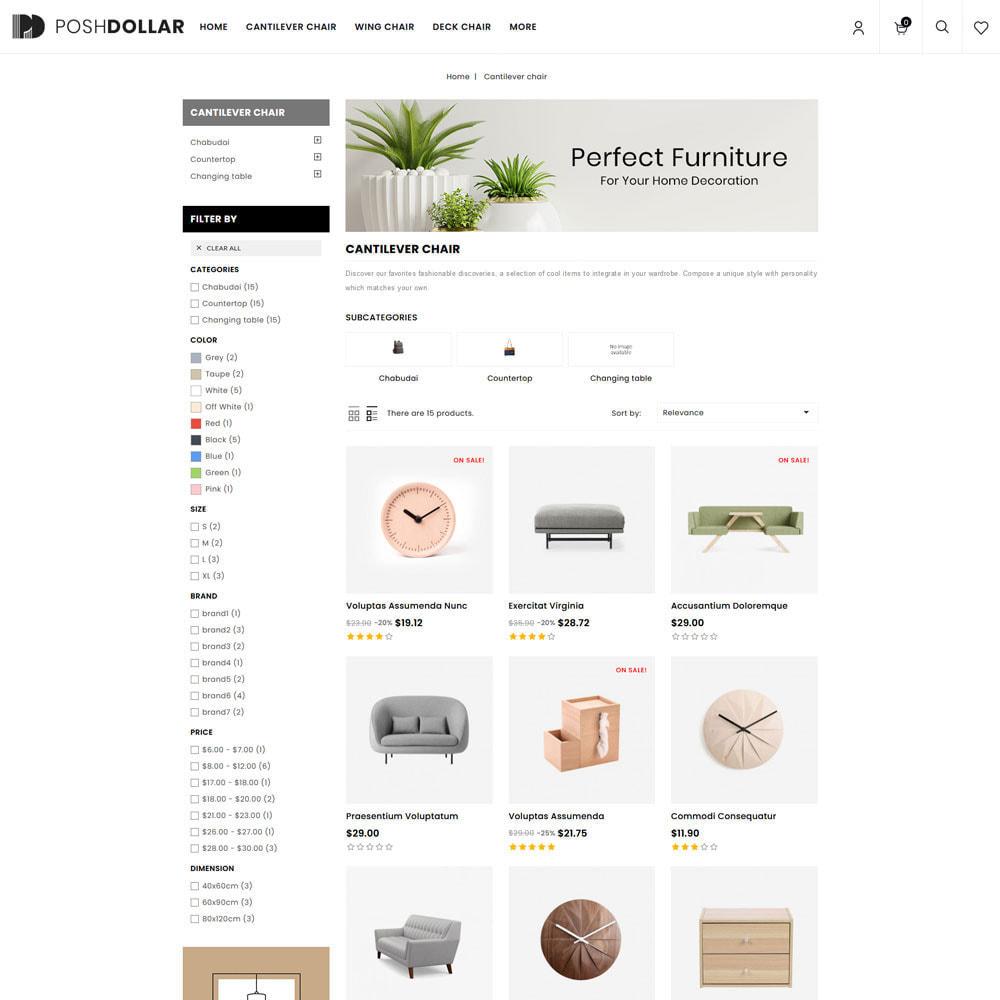 theme - Home & Garden - Poshdollar - Furniture Store - 3