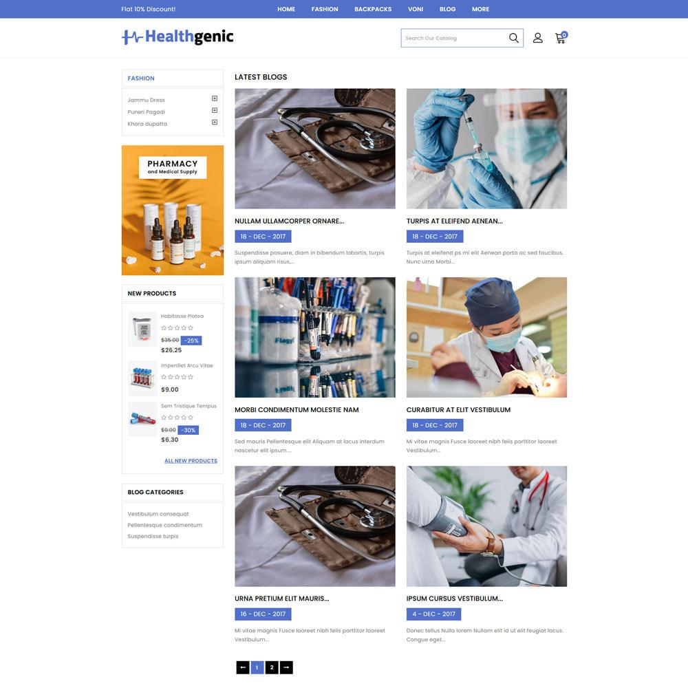 theme - Health & Beauty - Healthgenic - Medical Store - 6