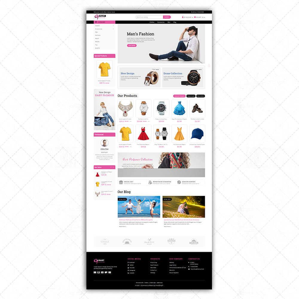 theme - Fashion & Shoes - G-Mart - 2