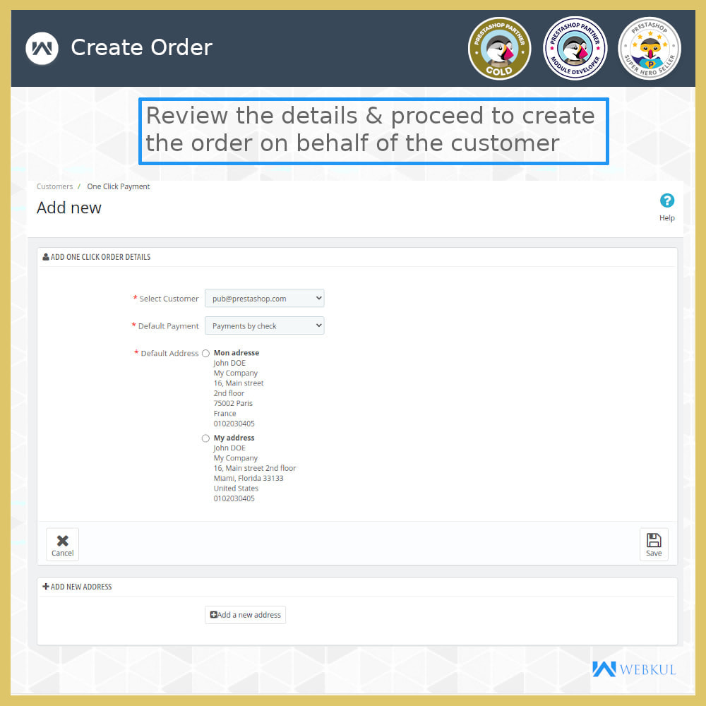 module - Bestelproces - One Click Pay | Hassle Free Checkout - 8