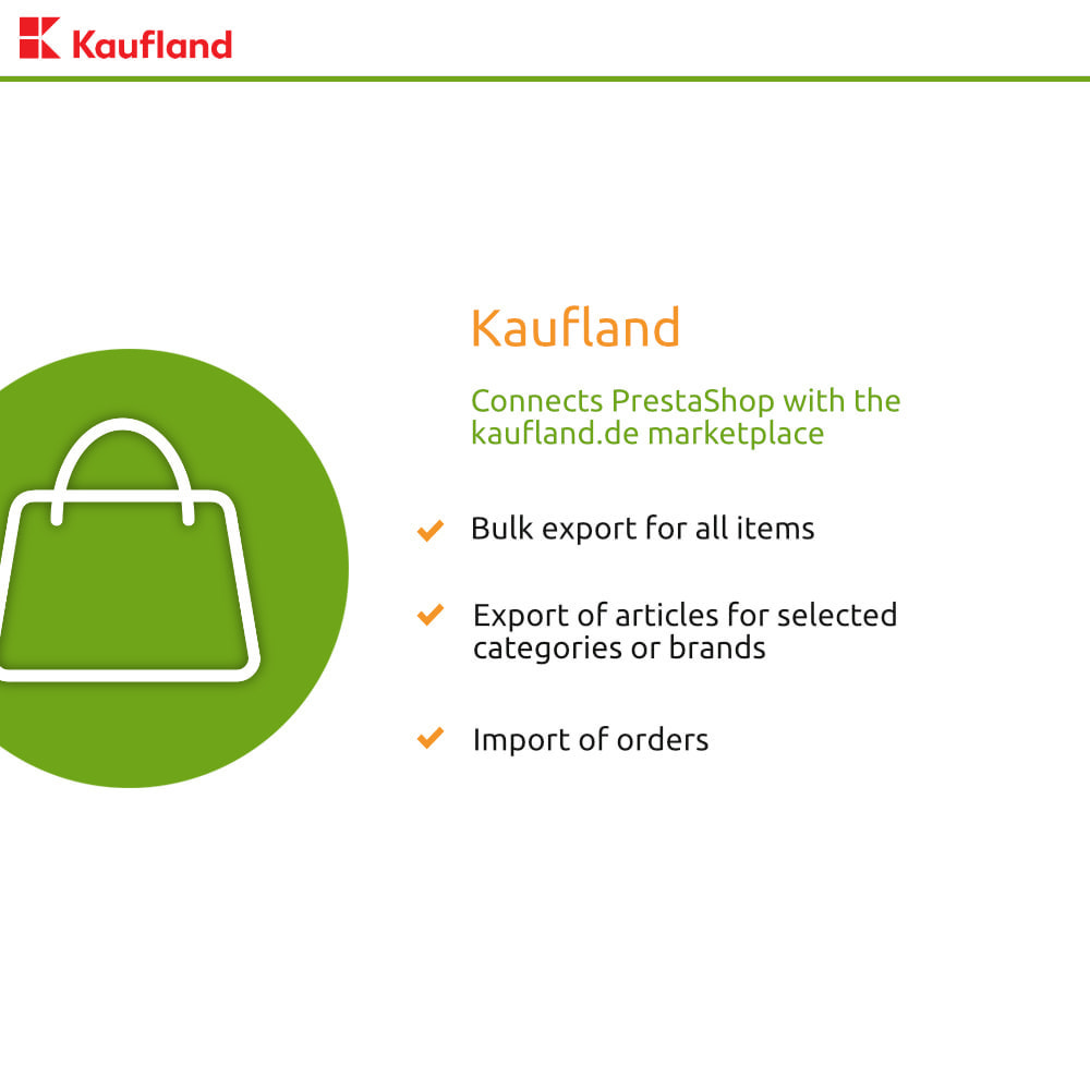 module - Marktplaats (marketplaces) - kaufland.de Marketplace Connector - 1