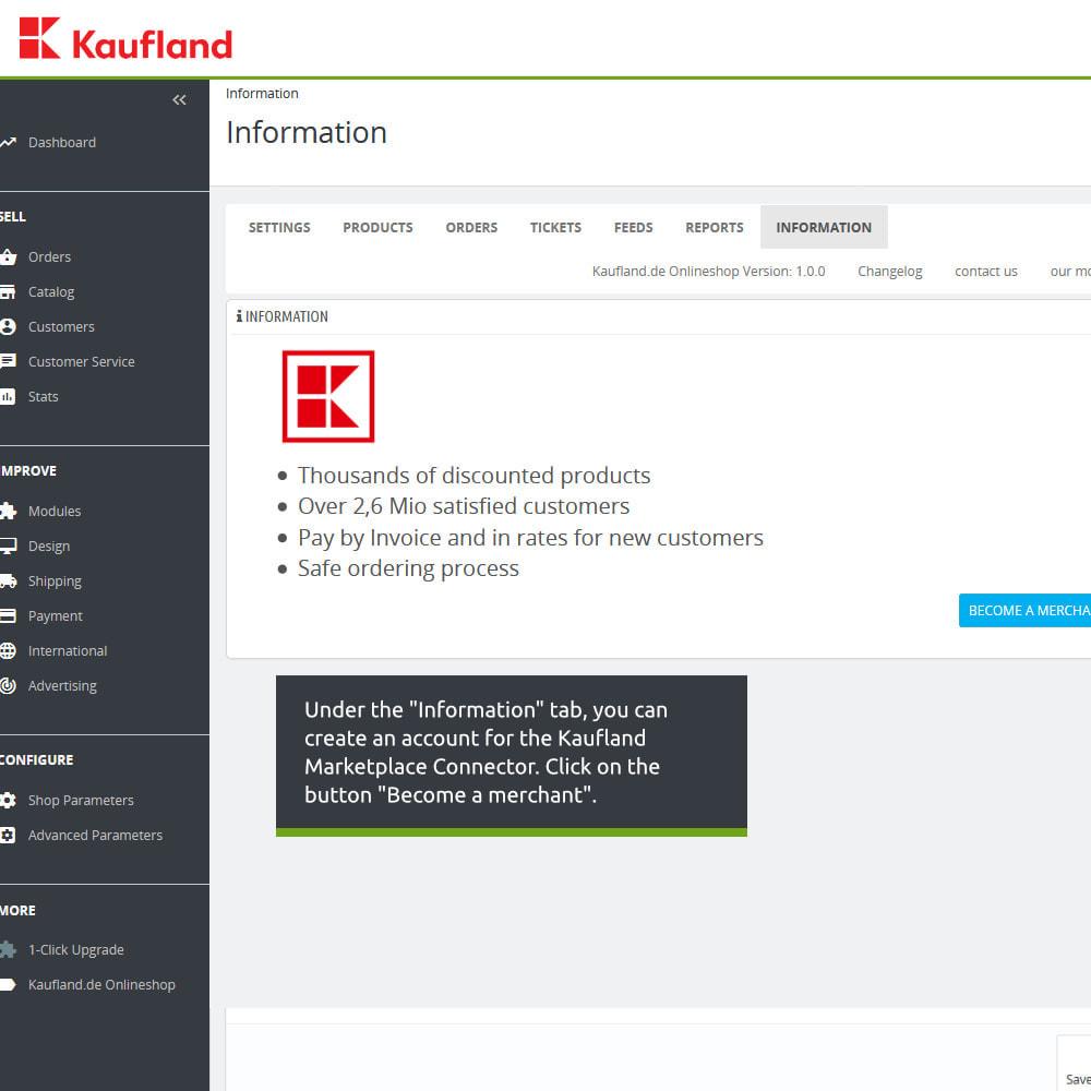 module - Marktplaats (marketplaces) - kaufland.de Marketplace Connector - 3