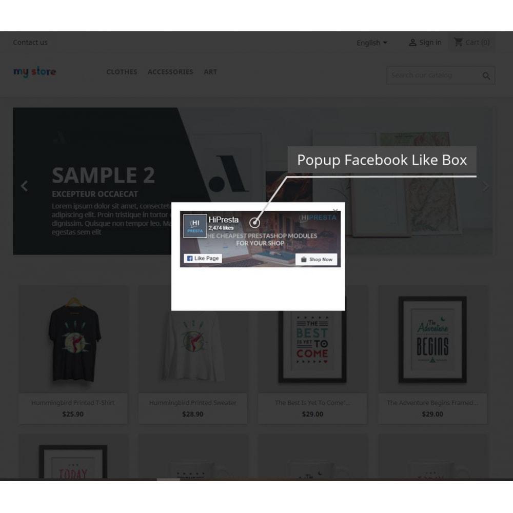 module - Boutons Login & Connect - Pack Pop Ups (10 en 1) Et La Social Connexion - 11