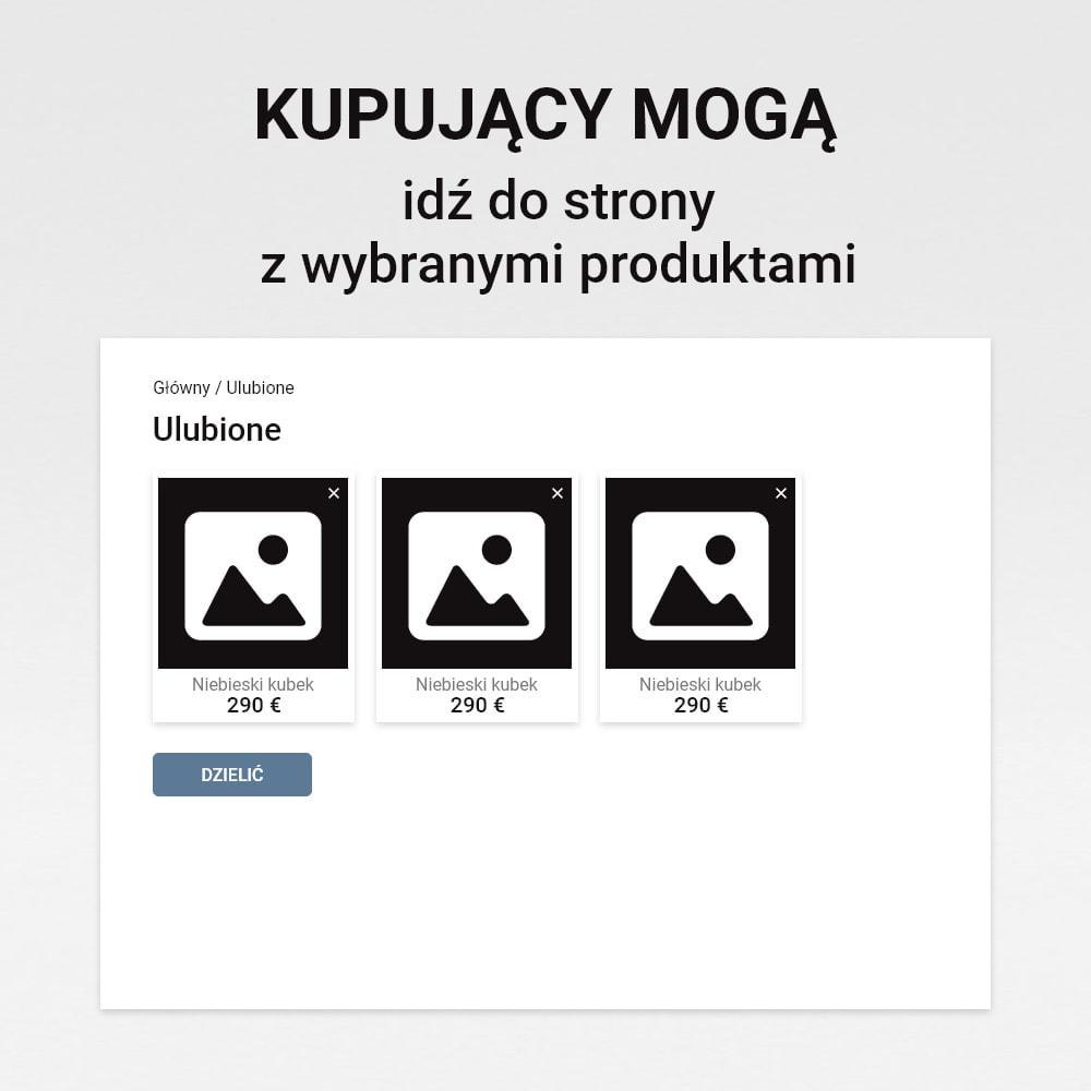 module - Lista życzeń & Karta podarunkowa - Lista życzeń - 6