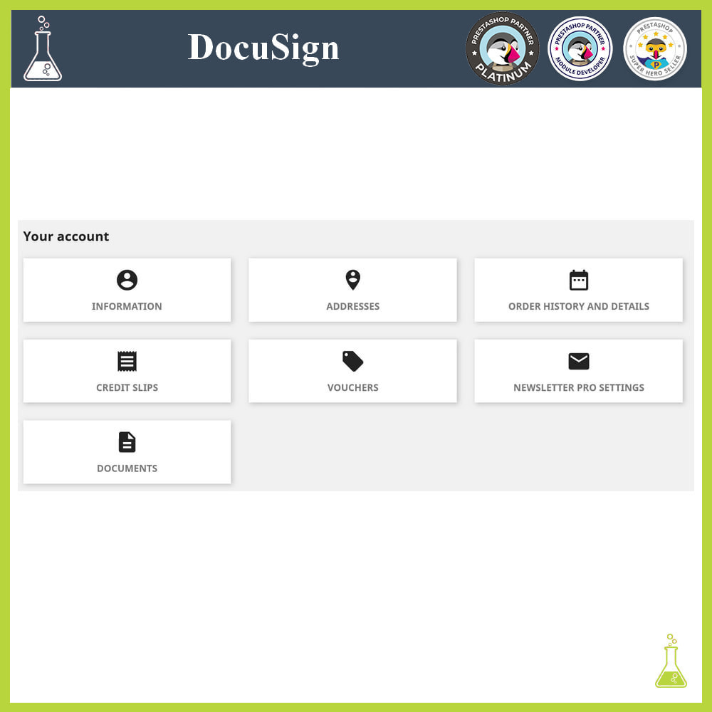 module - Accounting & Invoicing - DocuSign: Electronic signatures - 5