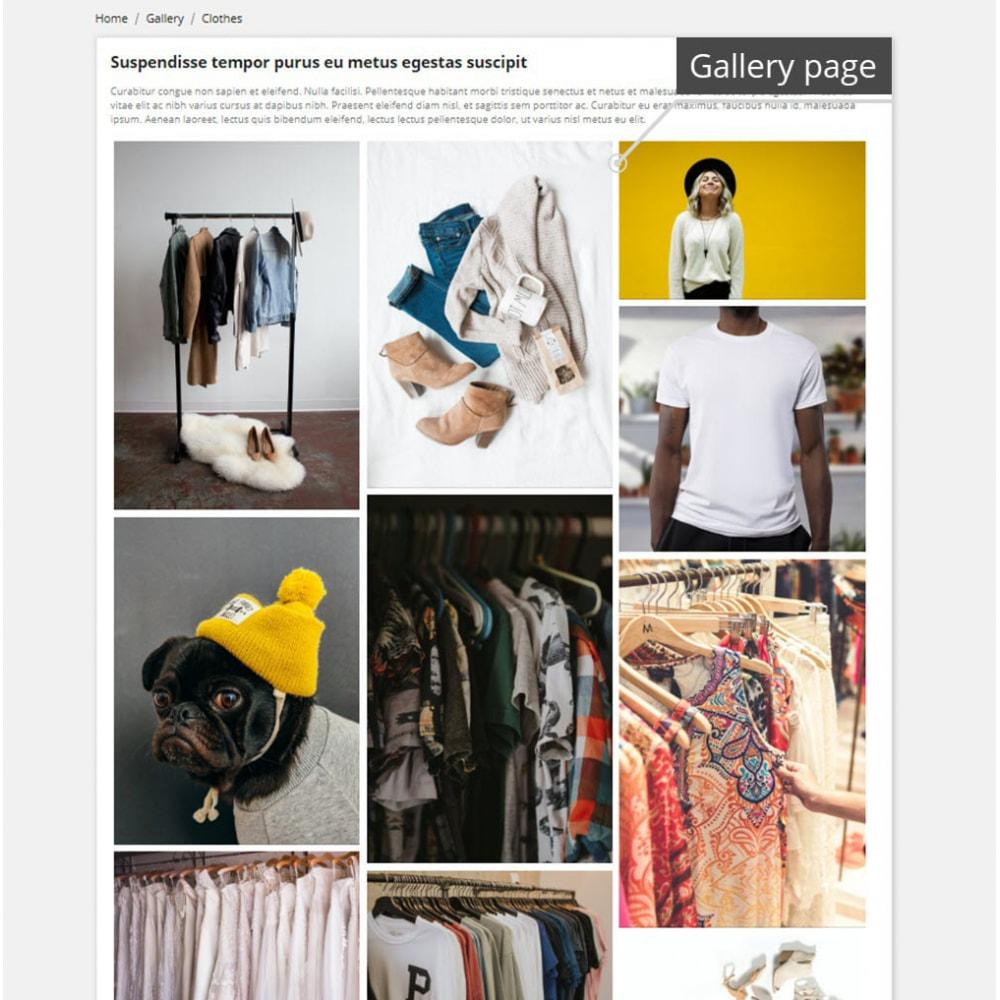 module - Slidery & Galerie - Professional Gallery - 3