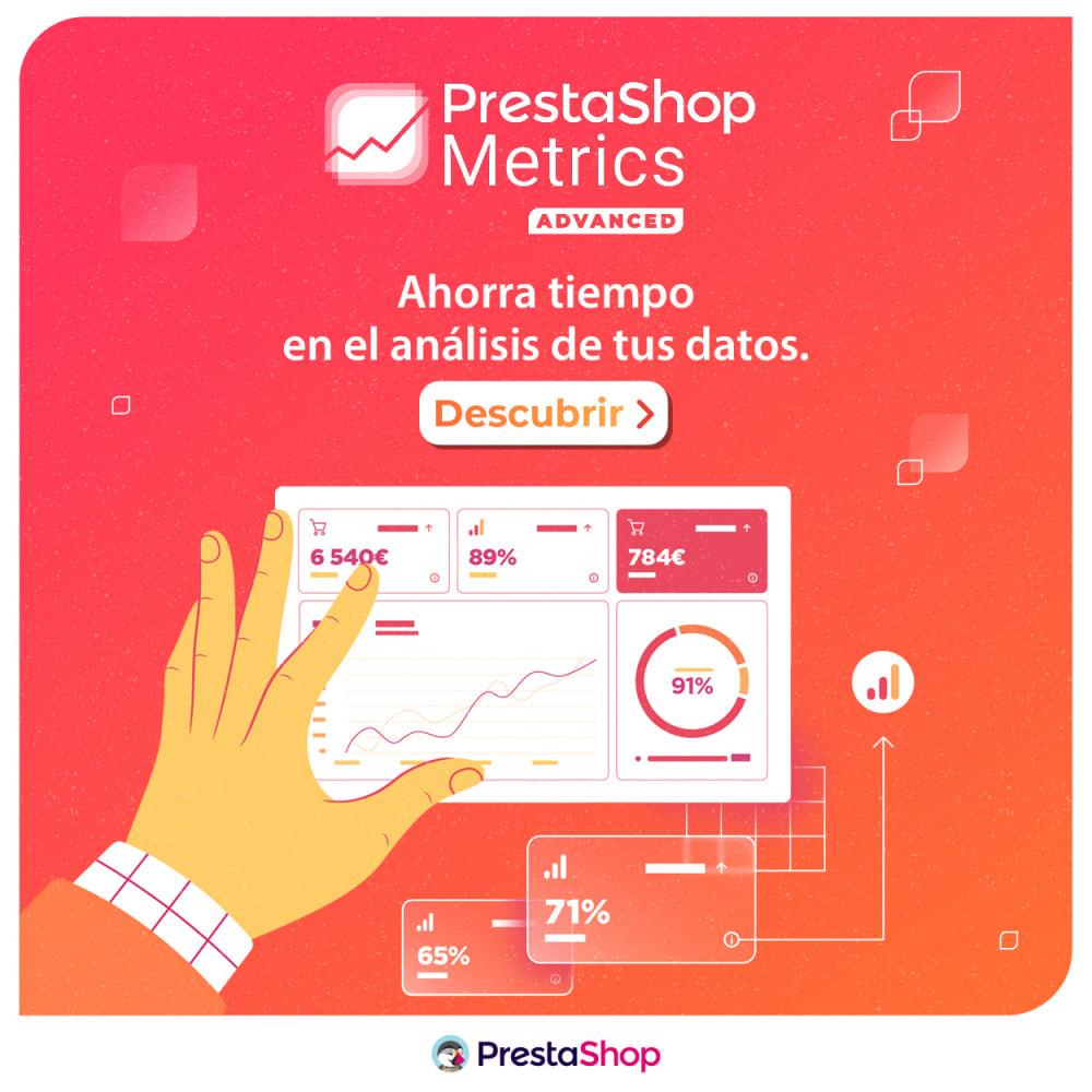 module - Informes y Estadísticas - PrestaShop Metrics - 5