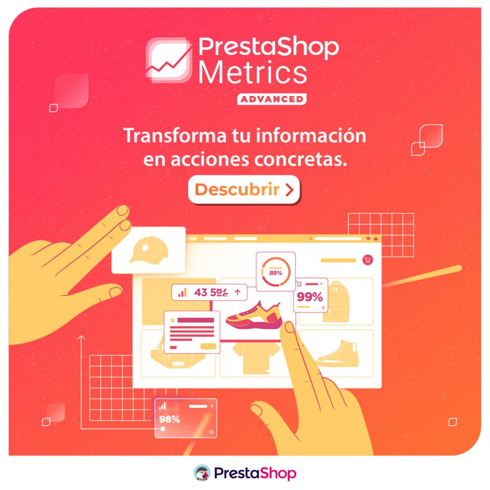 module - Informes y Estadísticas - PrestaShop Metrics - 6