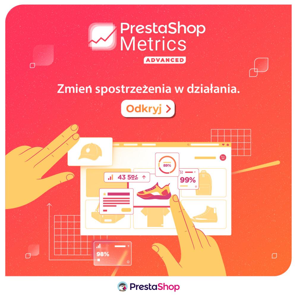 module - Analizy & Statystyki - PrestaShop Metrics - 6