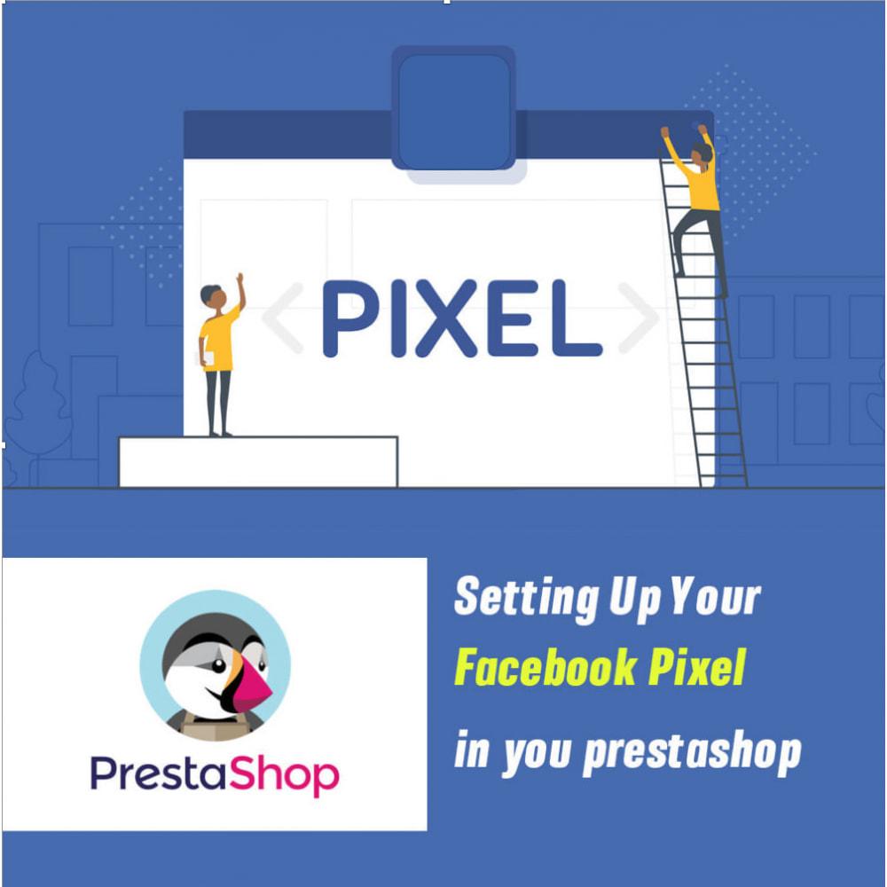 module - Produits sur Facebook & réseaux sociaux - Pixel events - 1