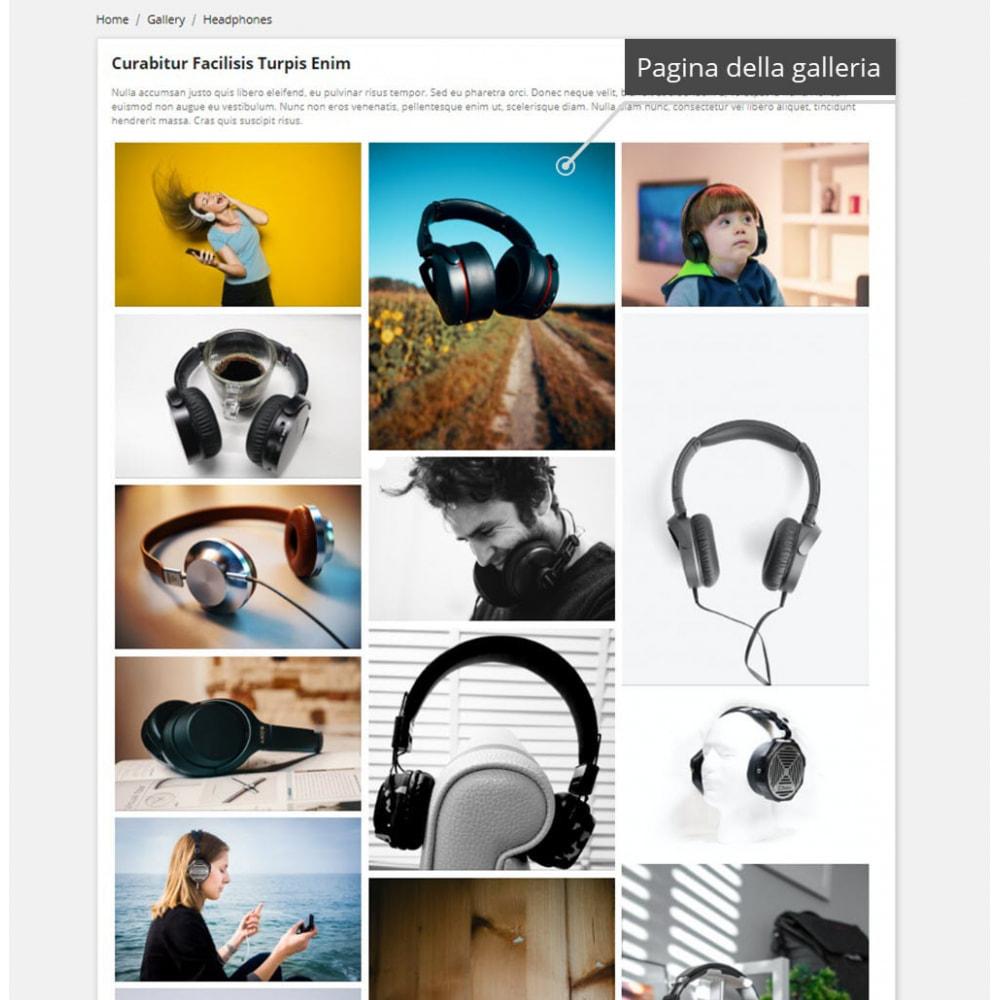 module - Slider & Gallerie - Galleria professionali ( images gallery ) - 2