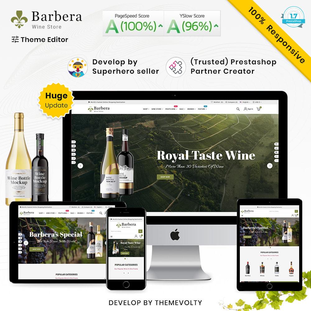 theme - Napoje & Wyroby tytoniowe - Barbera Mega Wine–Vin Liquor–Alcohol Super Store - 1