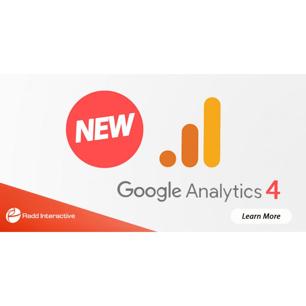 module - Analytics & Statistics - Google Analytics GA4  & Universal Analytics - NEW API - 1