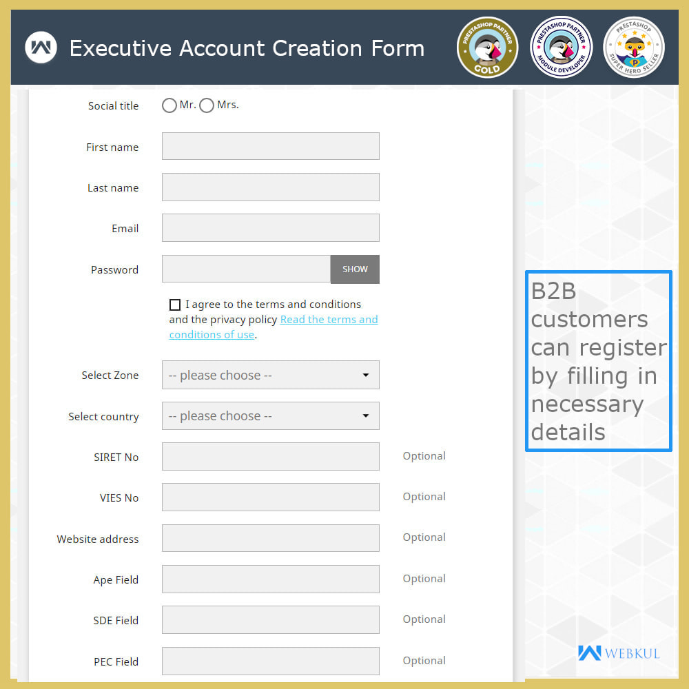 module - Accounting & Invoicing - B2B Invoicing   Tax Exemption For Business Customers - 4