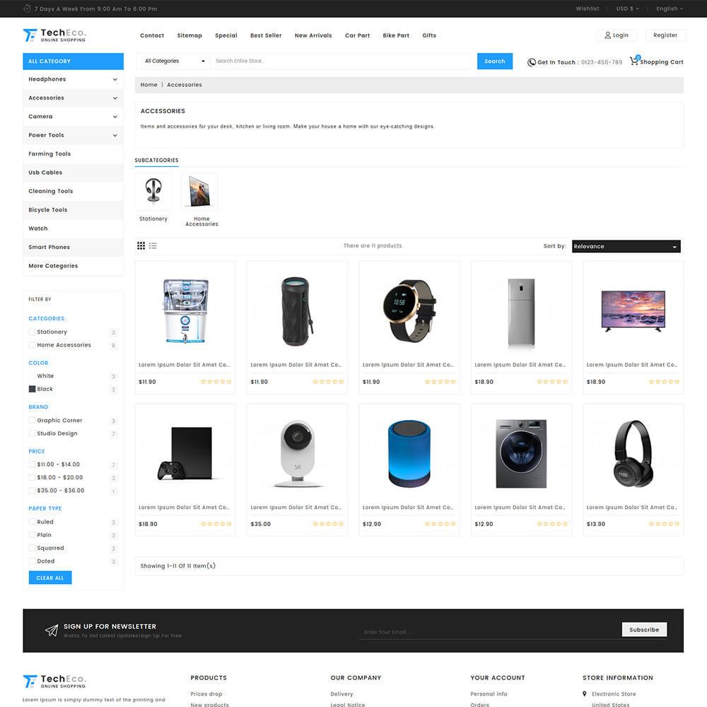 theme - Electrónica e High Tech - TechEco  - The Online Shopping - 5
