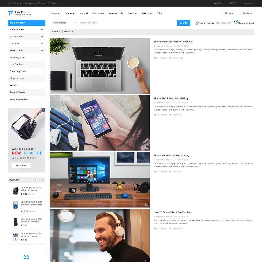 theme - Electrónica e High Tech - TechEco  - The Online Shopping - 8