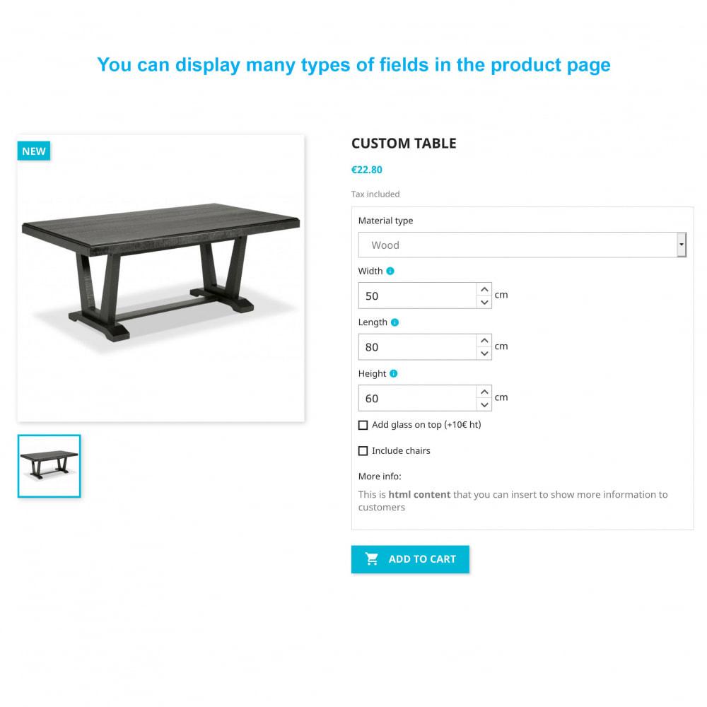 module - Sizes & Units - Dynamic Product Price - 1