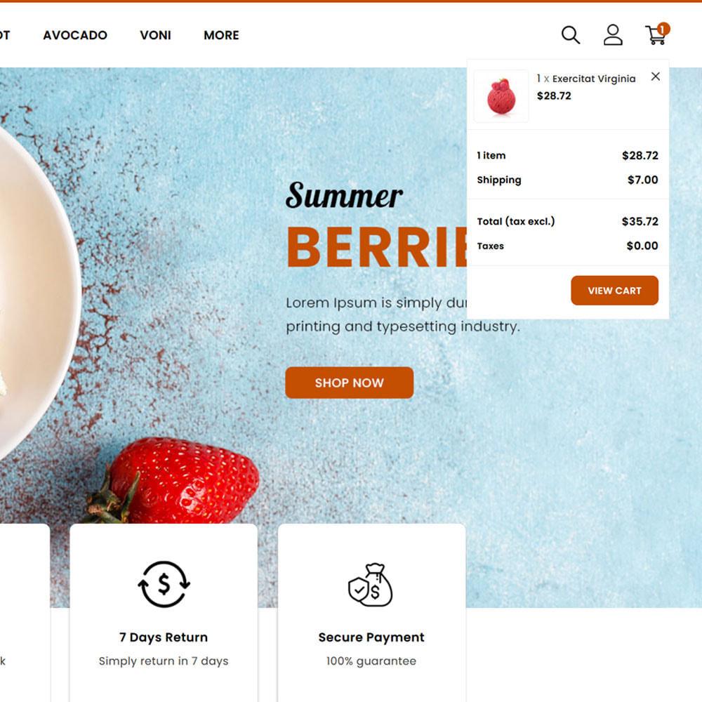 theme - Food & Restaurant - Fruitora - Fruit Shop - 7