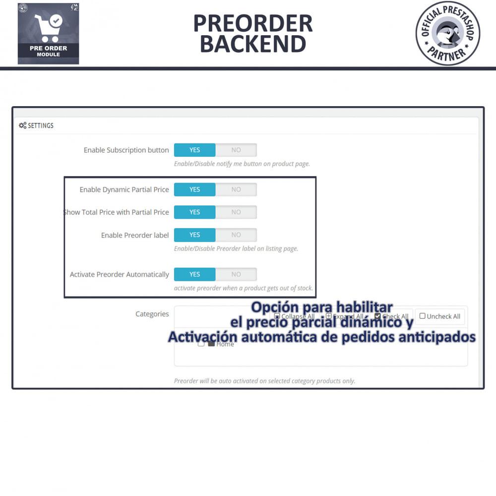 module - Inscripción y Proceso del pedido - Pre-Order - Advance Booking   Out of Stock Selling - 13