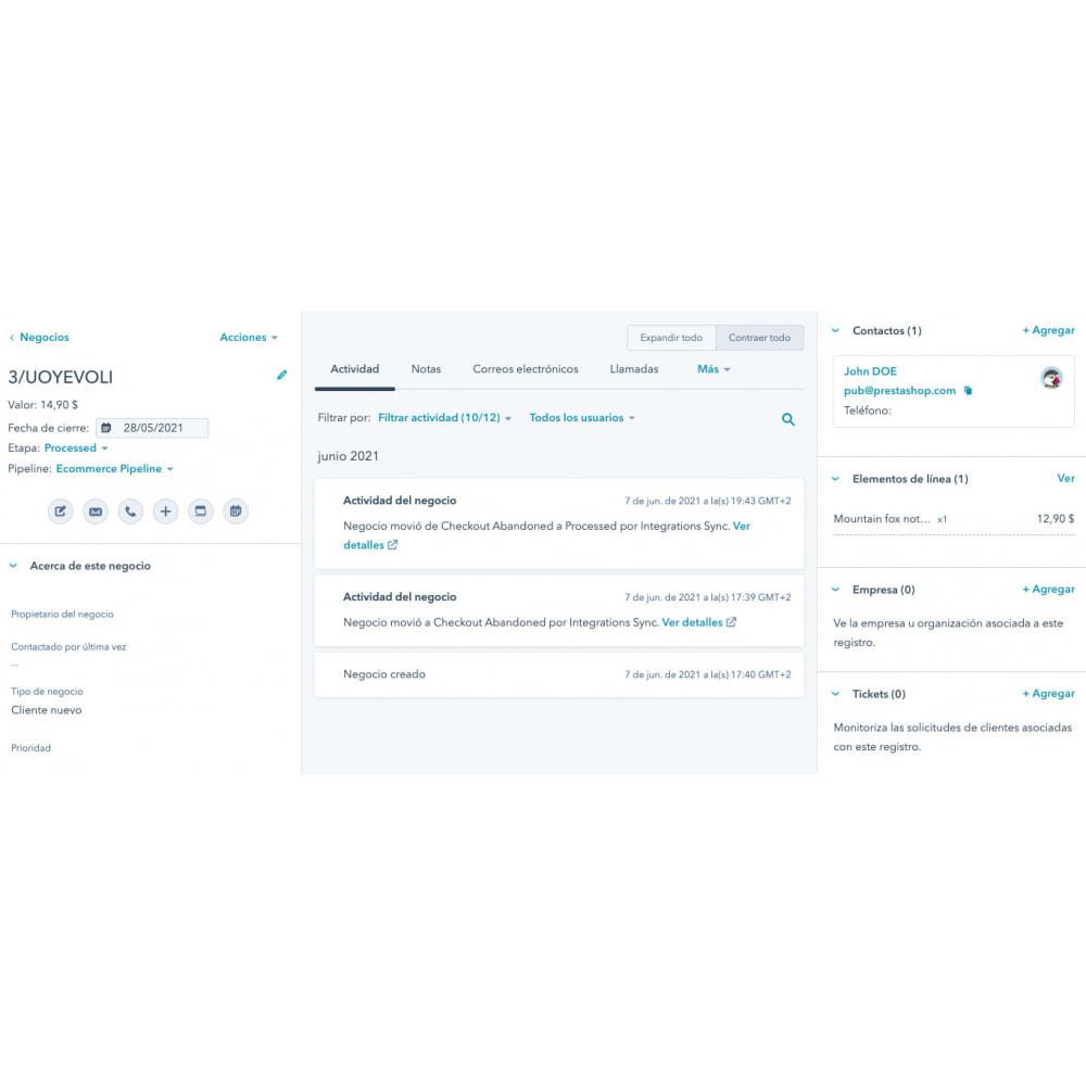 module - Remarketing y Carritos abandonados - HubSpot Integración ecommerce - 11