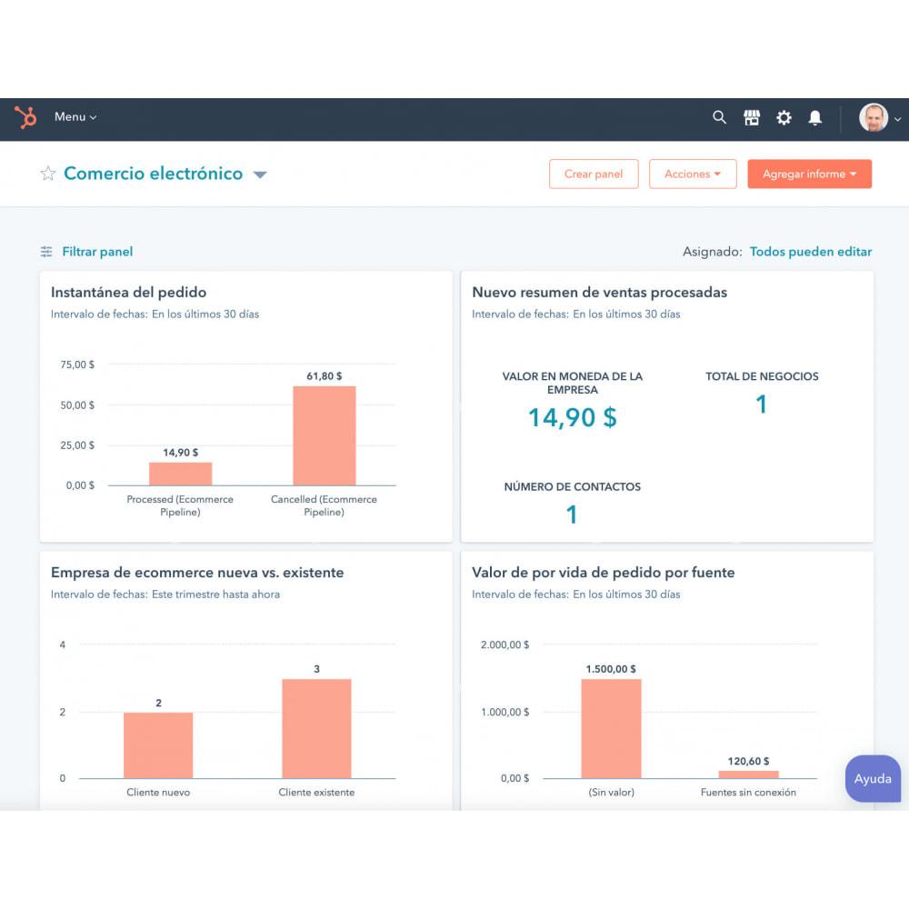 module - Remarketing & Carrelli abbandonati - Integrazione e-commerce HubSpot - 1