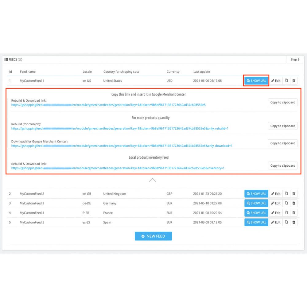 module - Porównywarki cen - Google Merchant Center (Google Shopping Feed) PRO - 4