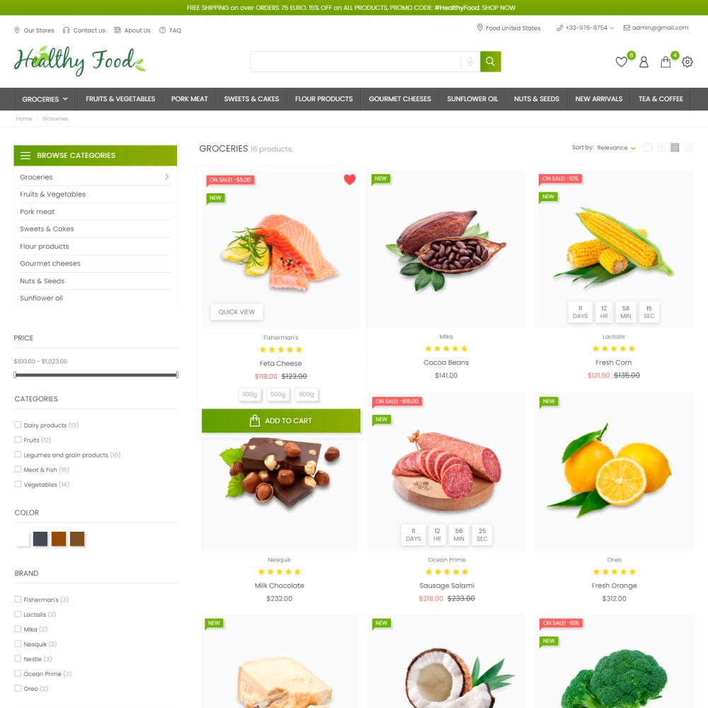 theme - Food & Restaurant - Healthy Food - Supermarket, Restaurant, Organic, Wine - 4