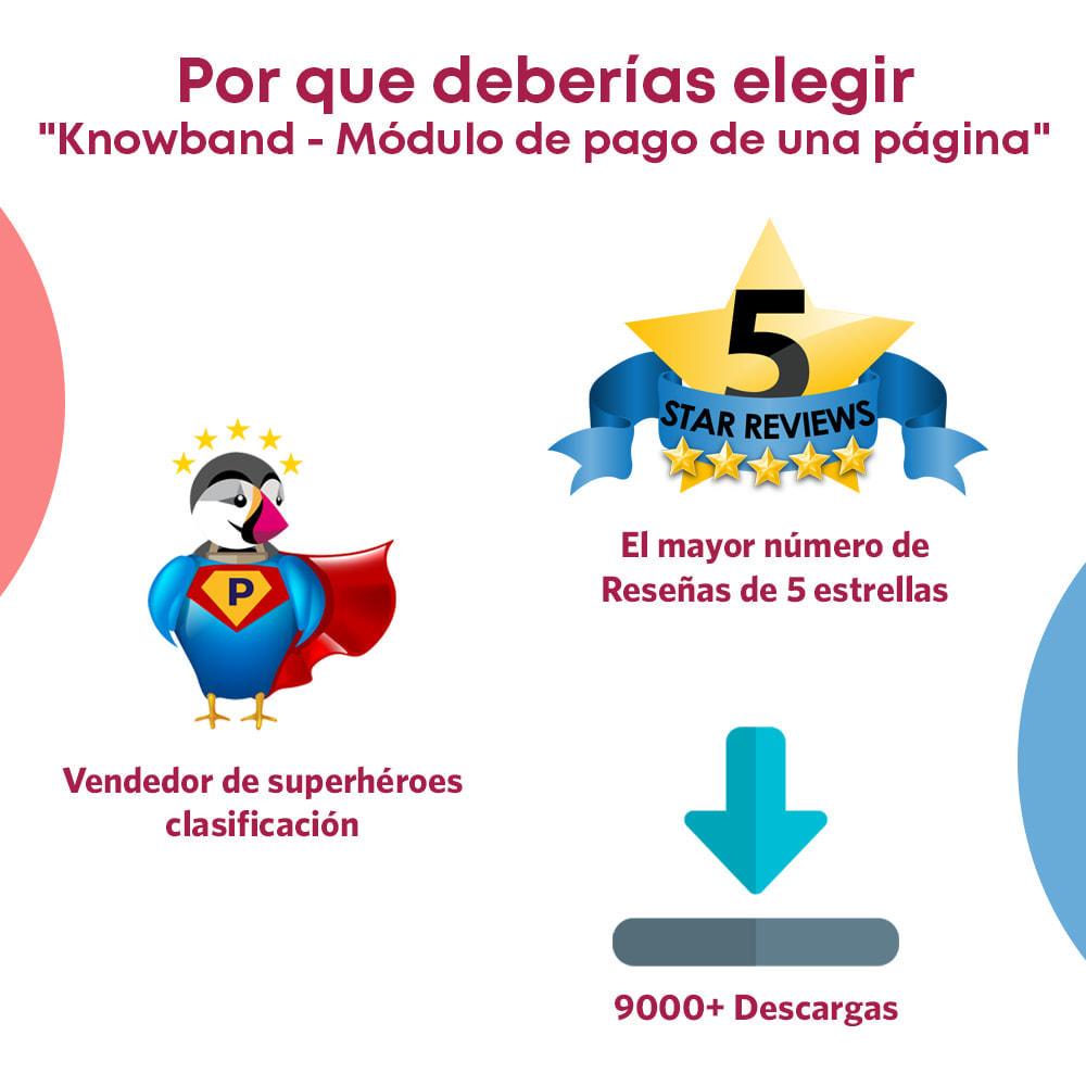 module - Proceso rápido de compra - One Page Checkout, Social Login & Mailchimp - 5
