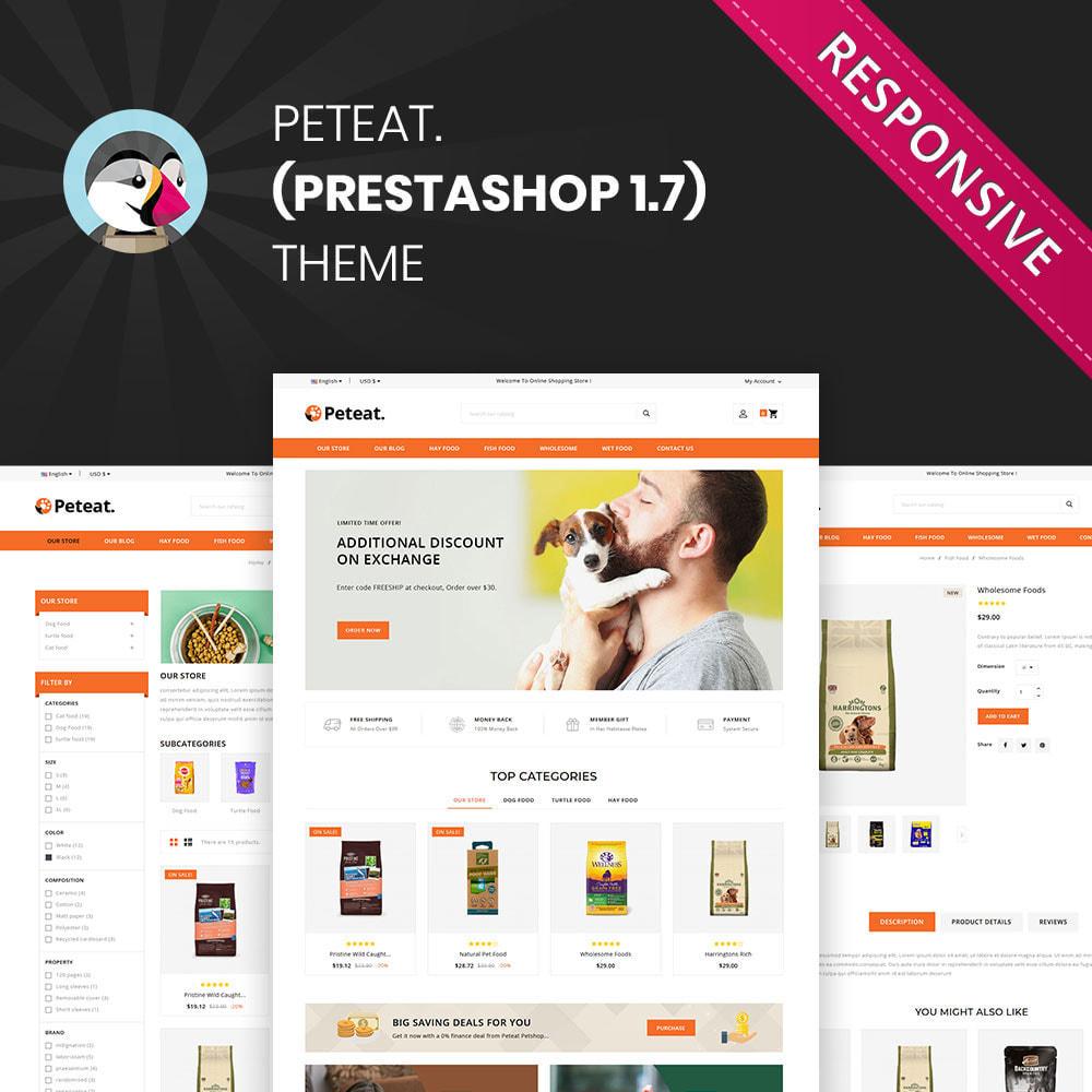 theme - Animals & Pets - Peteat - The Pet Store - 1