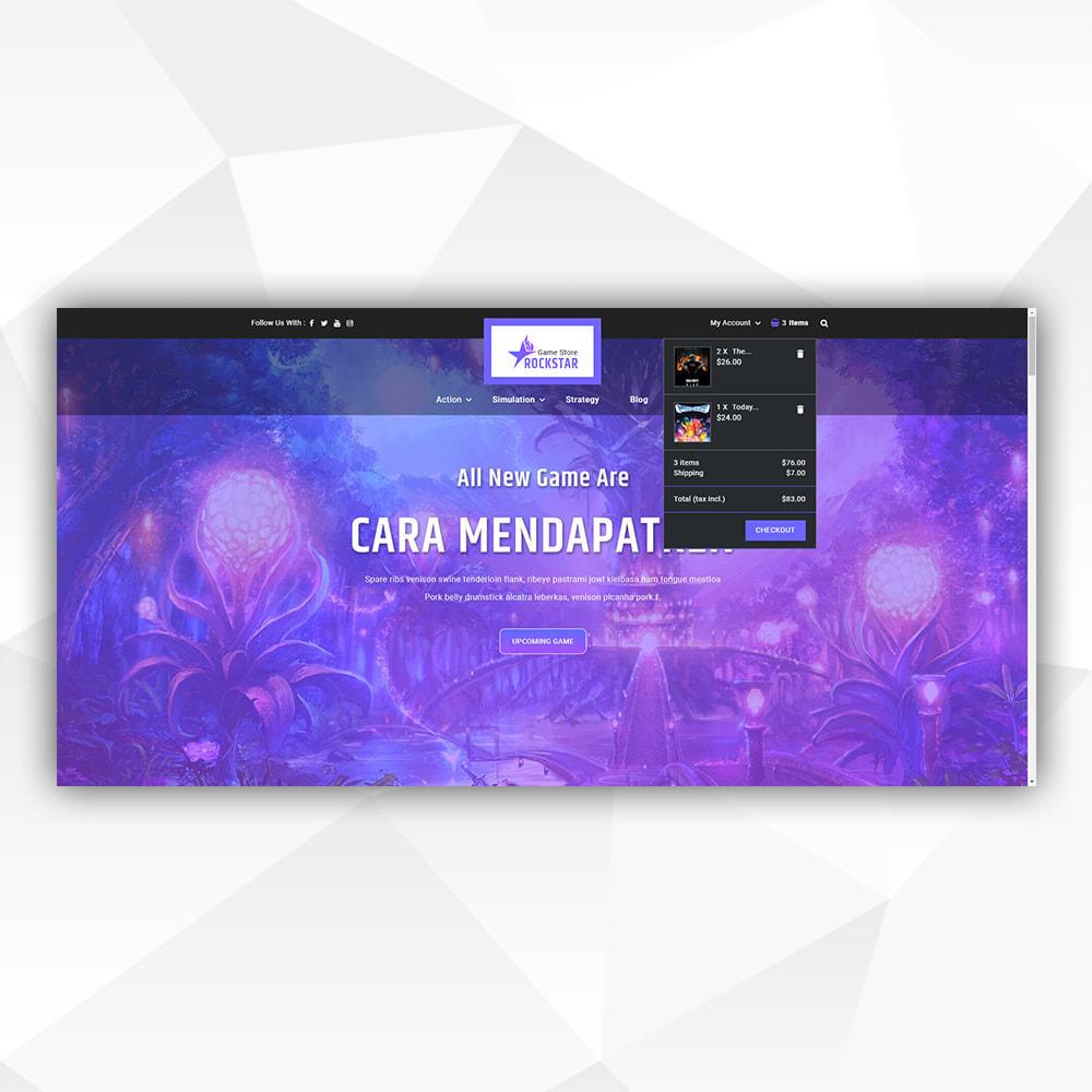theme - Art & Culture - Rock Star - Game Store - 9