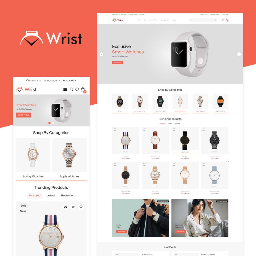 theme - Jewelry & Accessories - Wrist Watch Store - 1