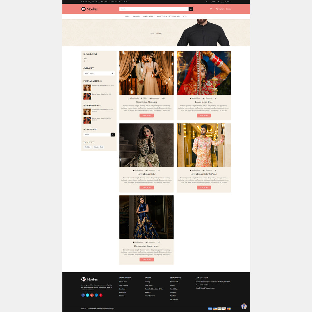 theme - Fashion & Shoes - Modus Fashion Store - 5