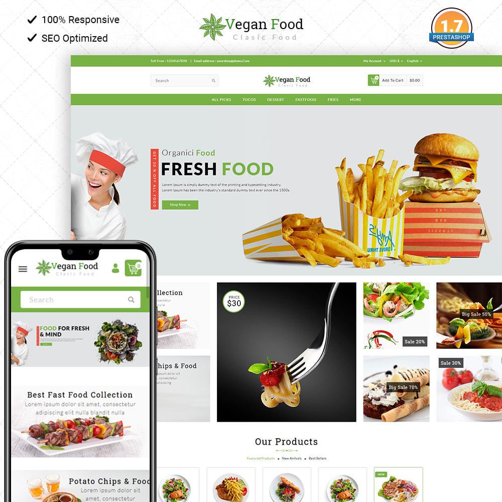 theme - Food & Restaurant - Vegan Food - 1
