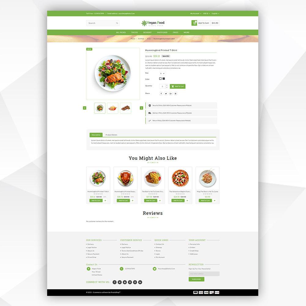 theme - Food & Restaurant - Vegan Food - 5