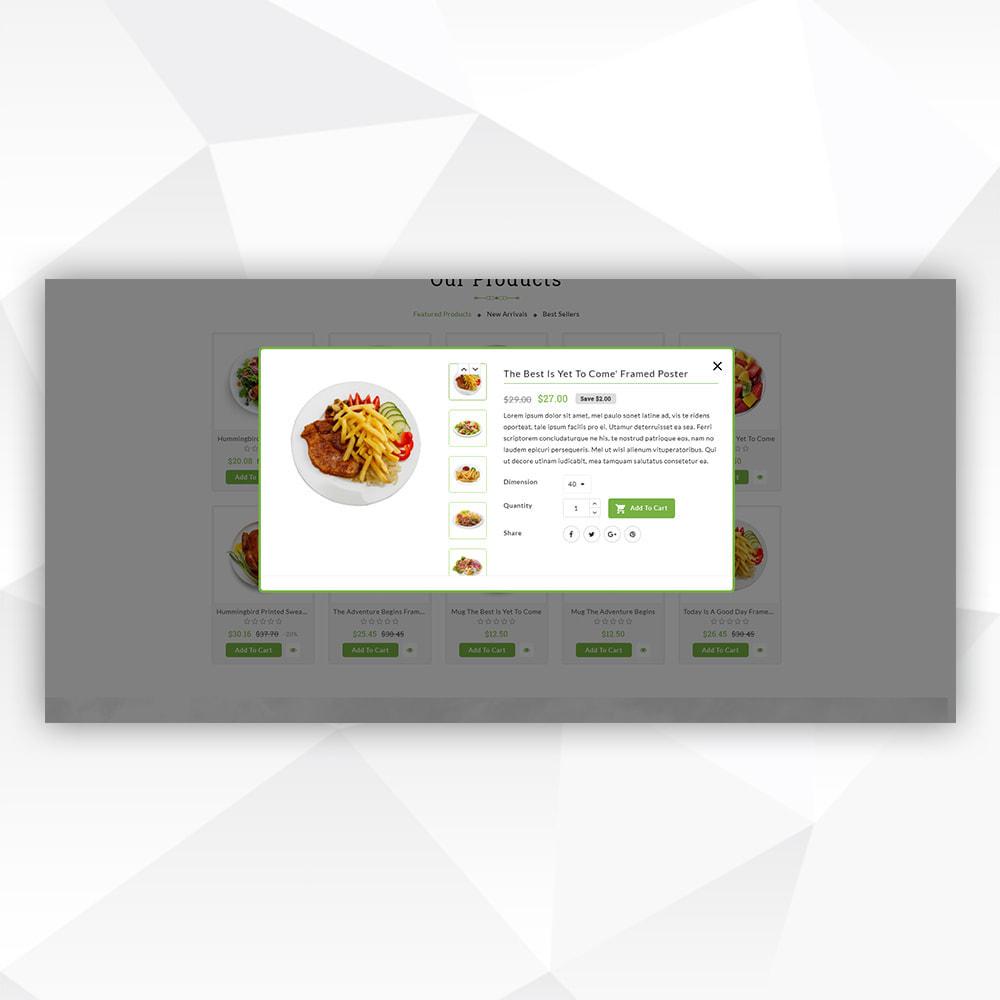 theme - Food & Restaurant - Vegan Food - 6