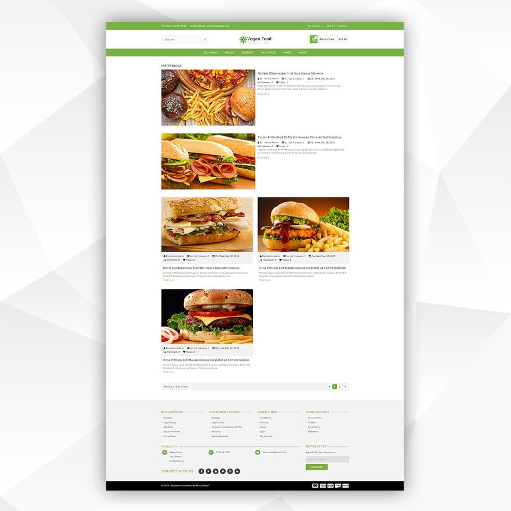 theme - Food & Restaurant - Vegan Food - 8